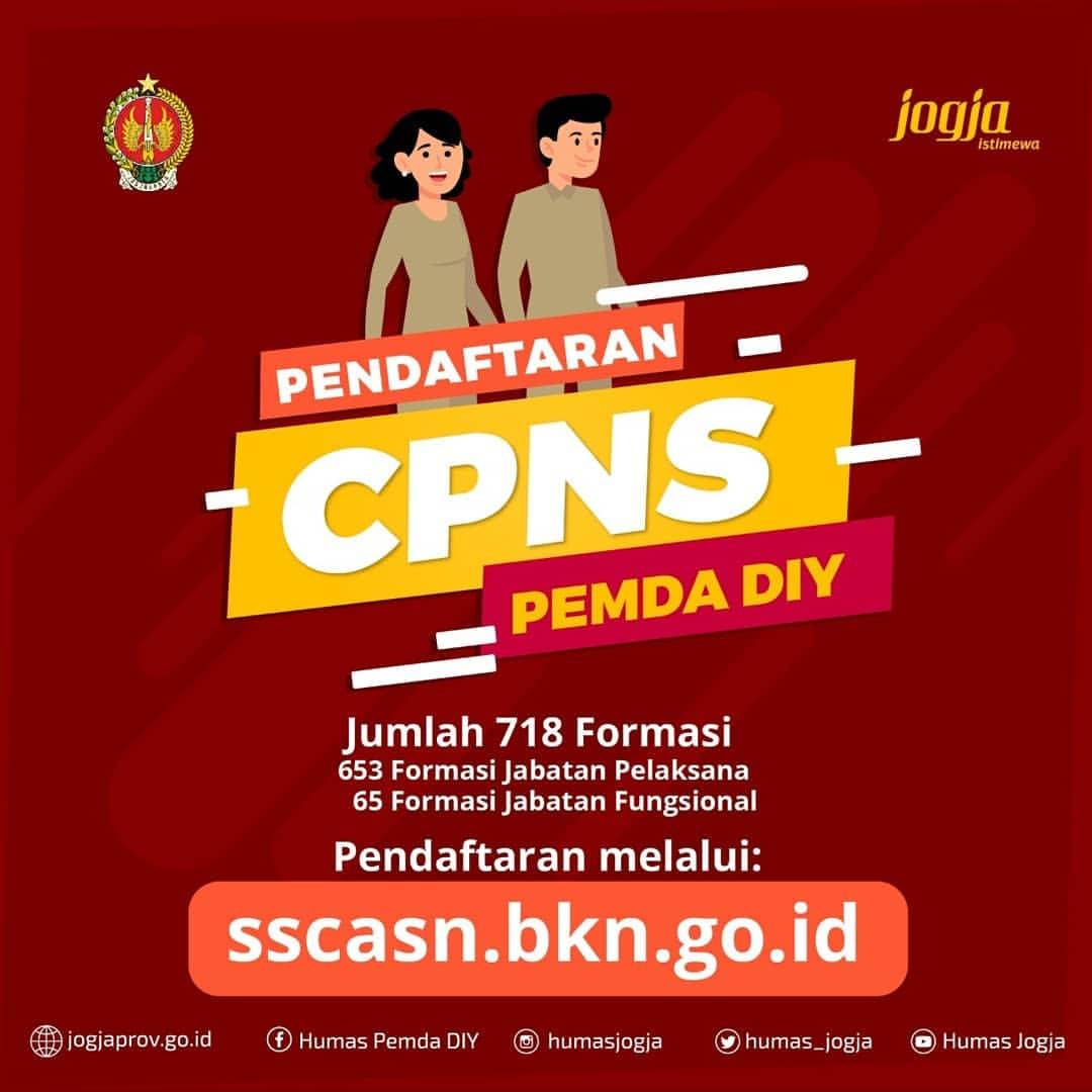CPNS Pemda DIY 2019 - DLHK DIY