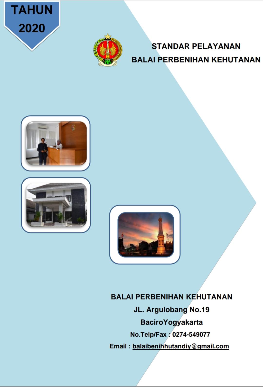 Standar Pelayanan Balai Perbenihan Kehutanan