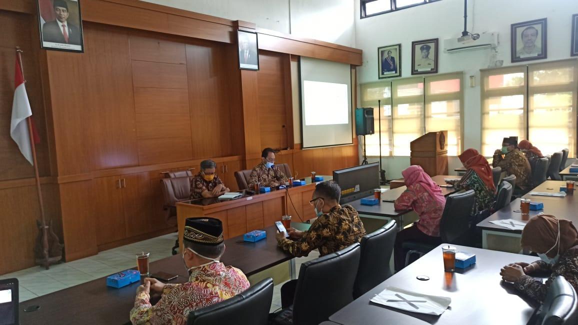 Penerimaan Penghargaan Adiwiyata Tingkat DIY Tahun 2020