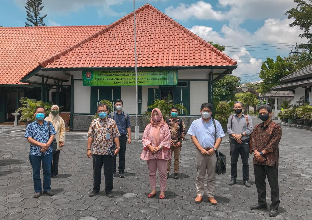 Diskusi Optimalisasi Pengolahan Sampah bersama Pusat Studi Energi (PSE) UGM