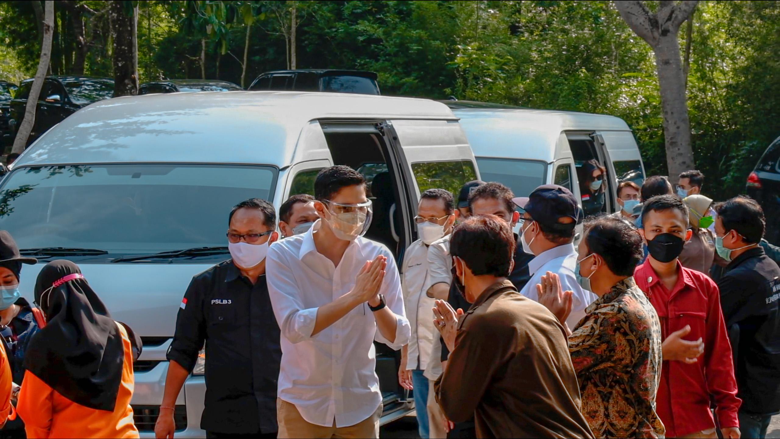 Kunjungan Kerja Komisi IV DPR RI ke Pabrik Minyak Kayu Putih Sendang Mole, Gunung Kidul